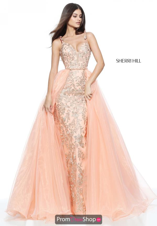 Sherri Hill Long Beaded Dress 51240