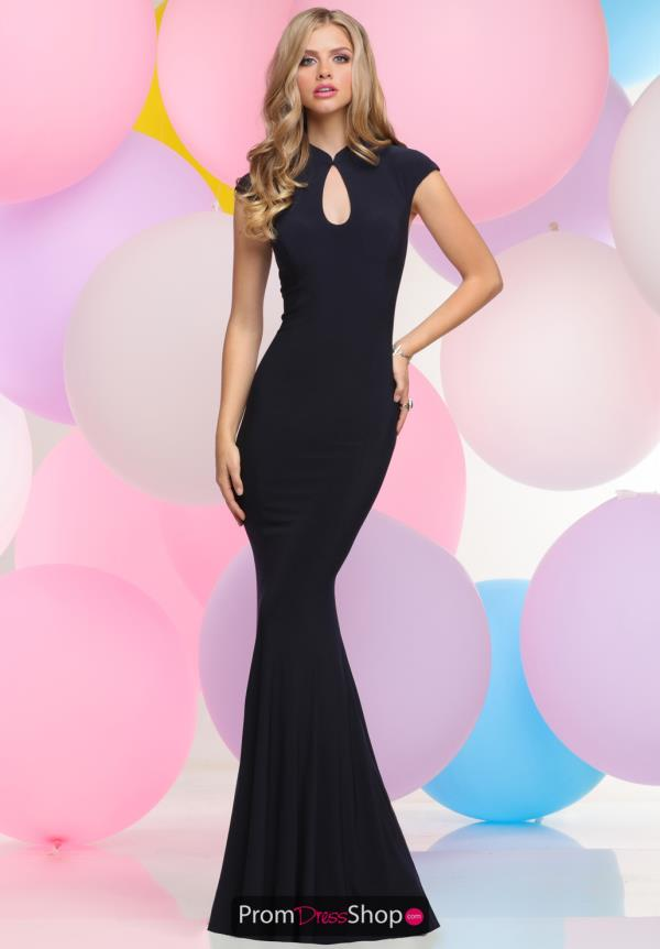 Zoey Grey Long Tulle Dress 30997