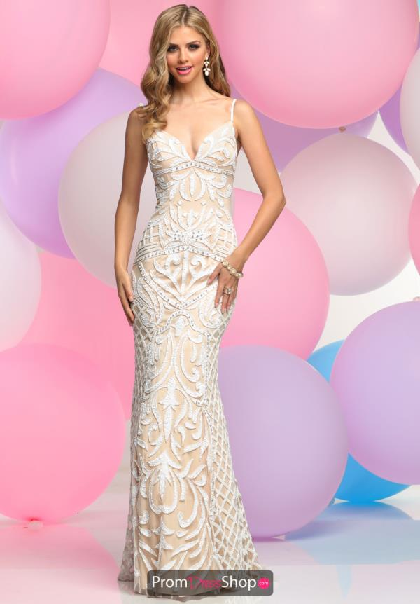 Zoey Grey Beaded Tulle Dress 31110