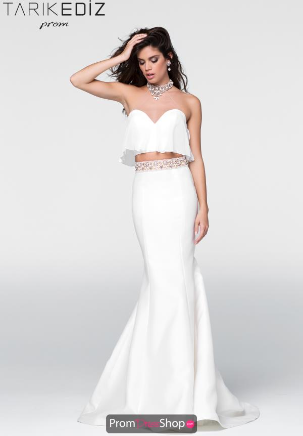 Tarik Ediz Mermaid Beaded Dress 50045