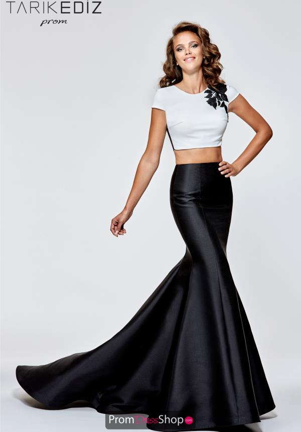 Tarik Ediz Cap Sleeve Mermaid Dress 93113