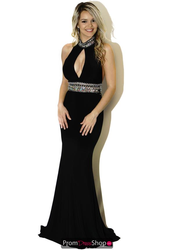 JVN by Jovani Plunging Pageant Dress JVN22328