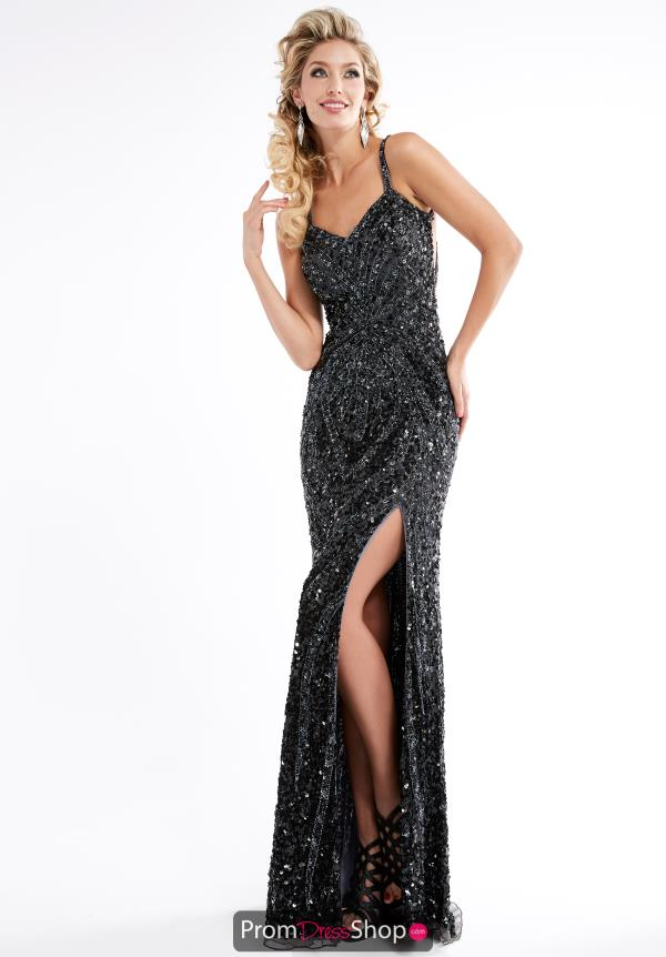 Jasz Couture Beaded Long Dress 1316