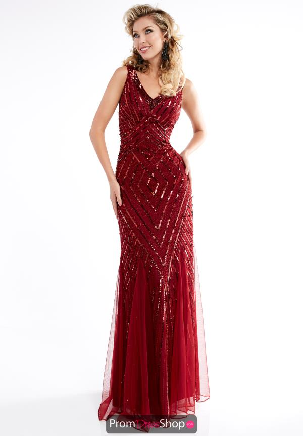 Jasz Couture Fitted Long Dress 1319