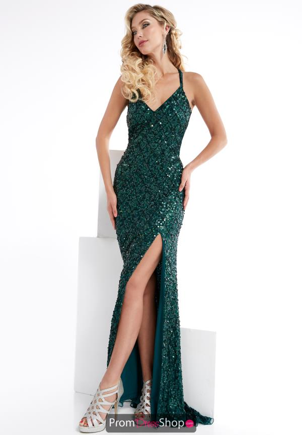 Fitted Long Jasz Couture Dress 1324