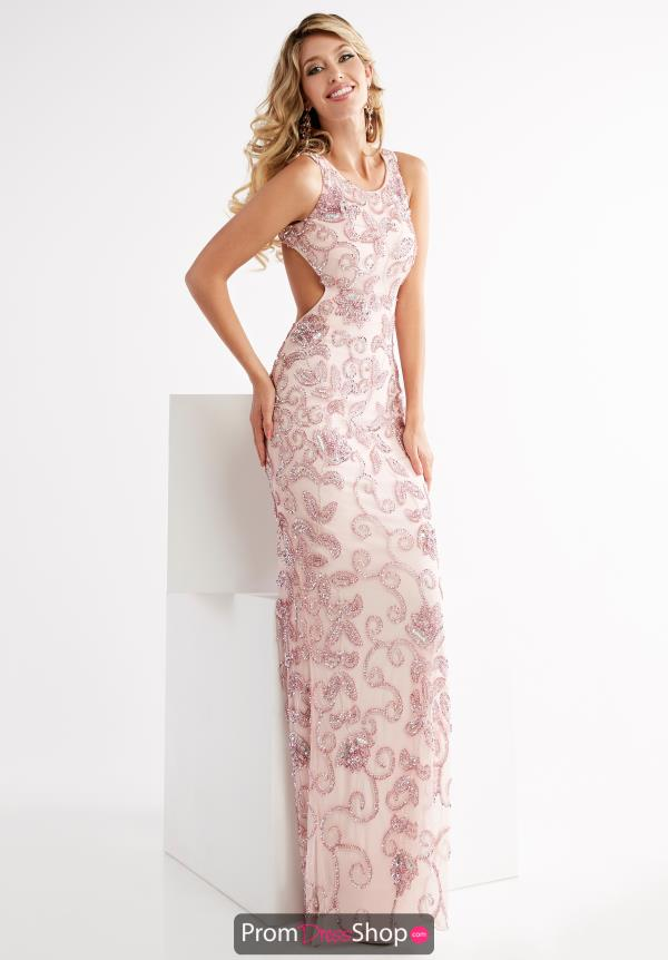 Jasz Couture Beaded Long Dress 1345