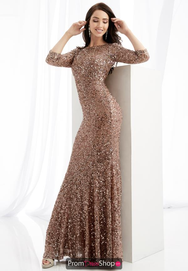 Jasz Couture Long Beaded Dress 1363