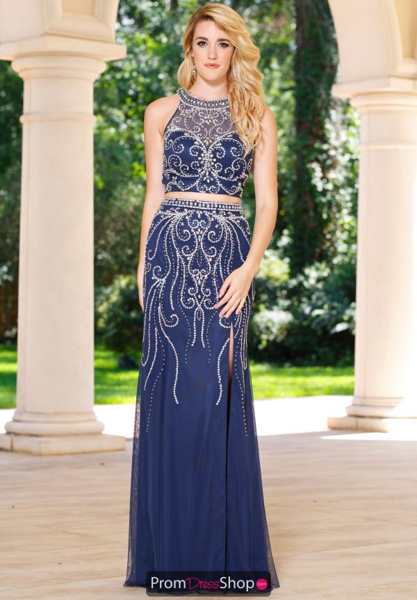Sean 50967 Beaded Two Piece Dress