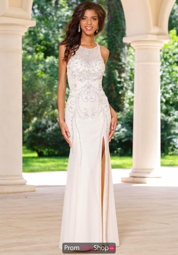 Sean Fitted Long Dress 50983