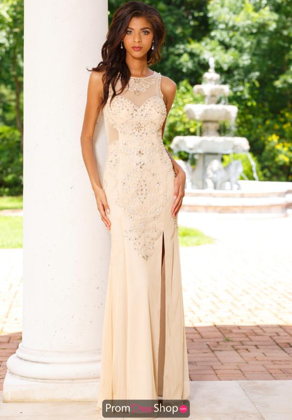 Sean Fitted Beaded Dress 50985
