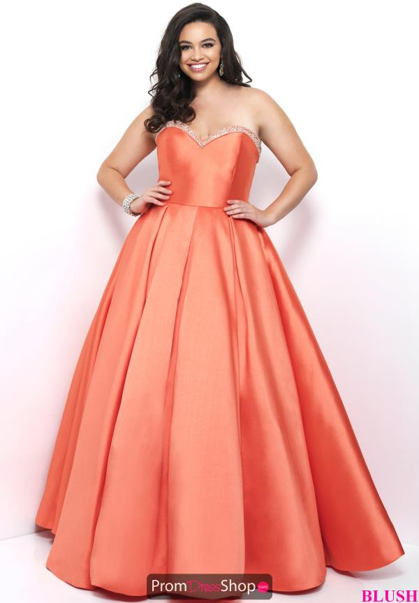 Blush Too Long A Line Dress 5626W