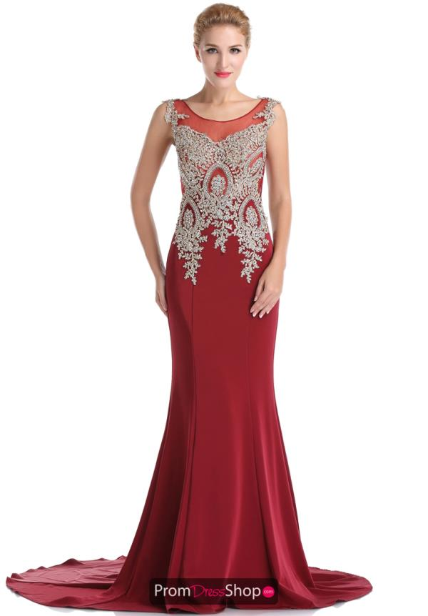 Romance Couture Beaded Full Figured Dress RM6031