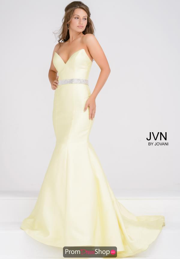 JVN by Jovani Long Sweetheart Dress JVN31939