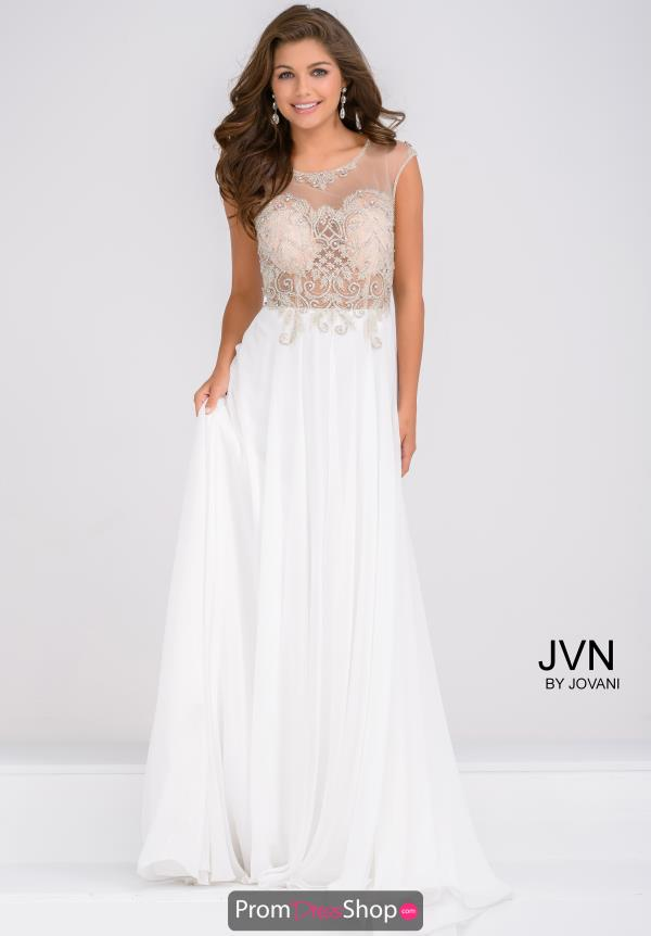 JVN by Jovani Cap Sleeve Long Dress JVN45675