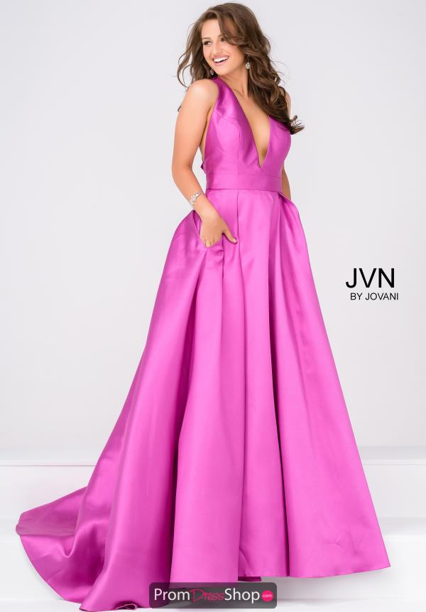 JVN by Jovani Long Full Figured Dress JVN47530