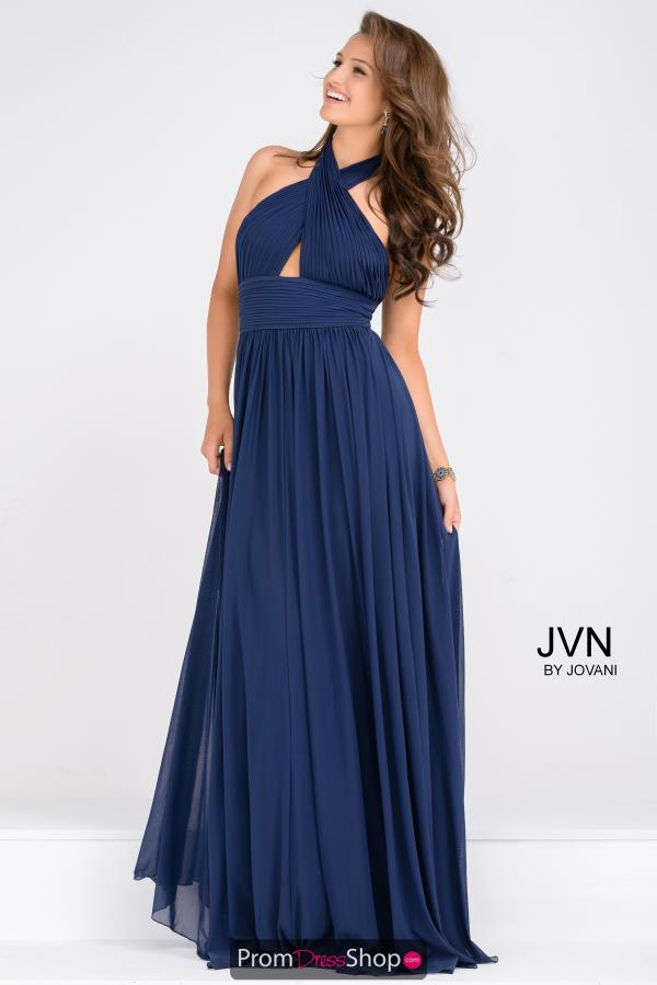 JVN by Jovani High Neckline Long Dress JVN47771