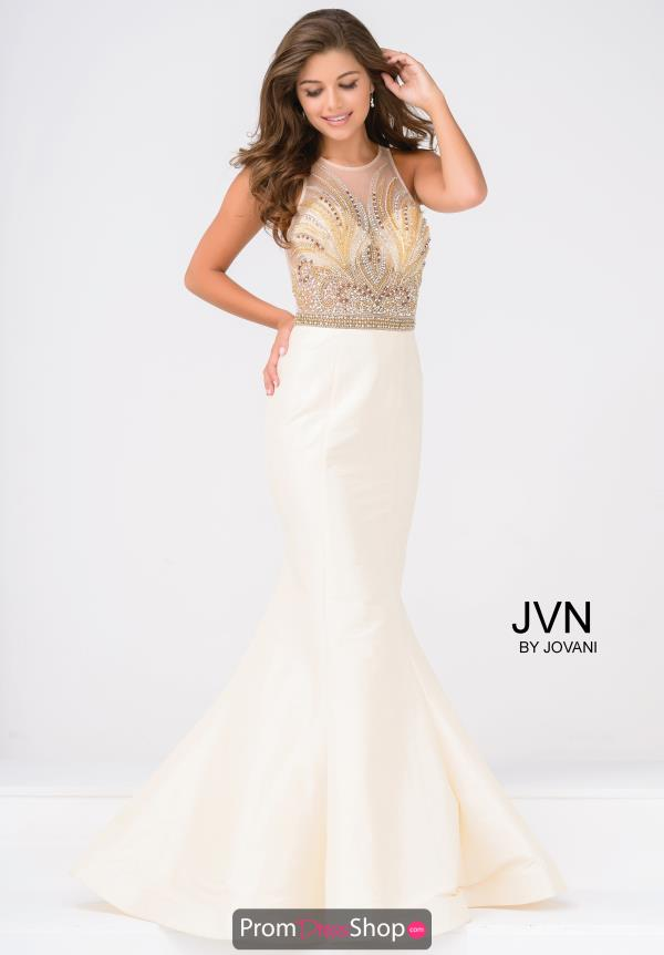 JVN by Jovani High Neckline Long Dress JVN47813