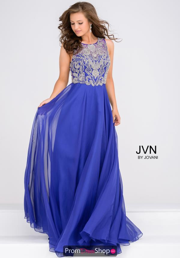 JVN by Jovani Long A Line Dress JVN48709