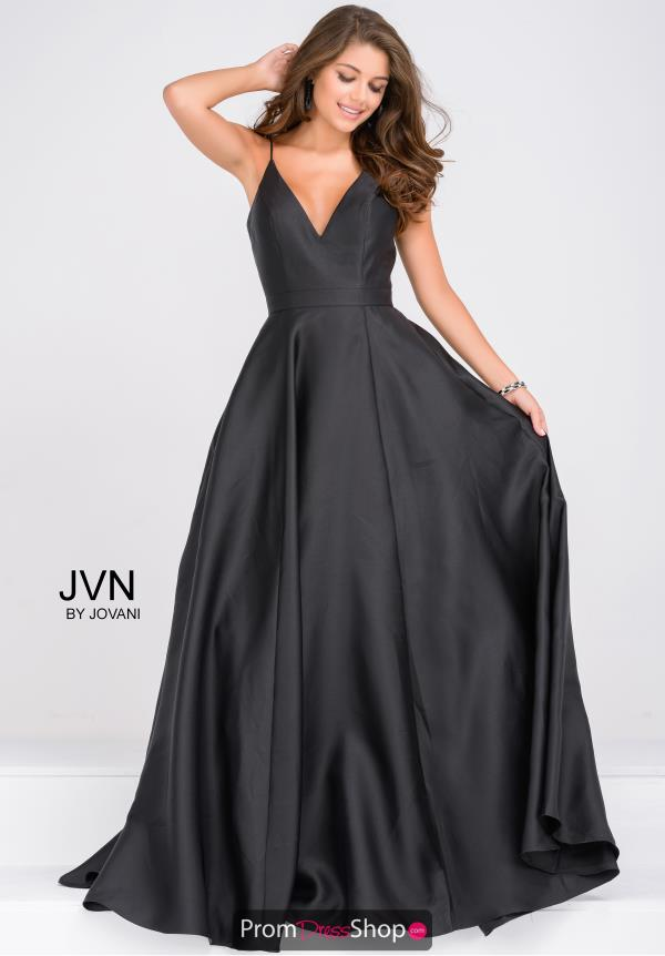 JVN by Jovani Long Full Figured Dress JVN48791