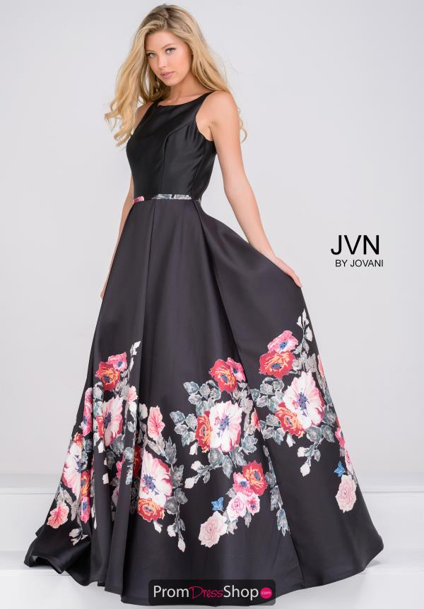 JVN by Jovani A Line Long Dress JVN49478