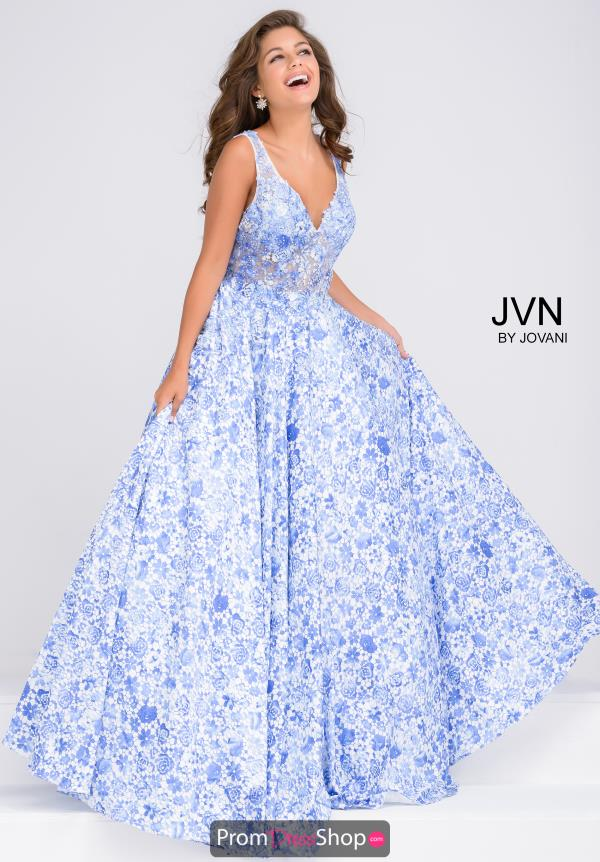 JVN by Jovani Beaded Long Dress JVN50050