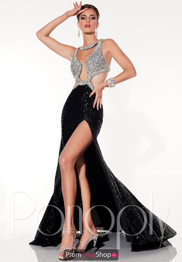 Long Fitted Panoply Dress 14791