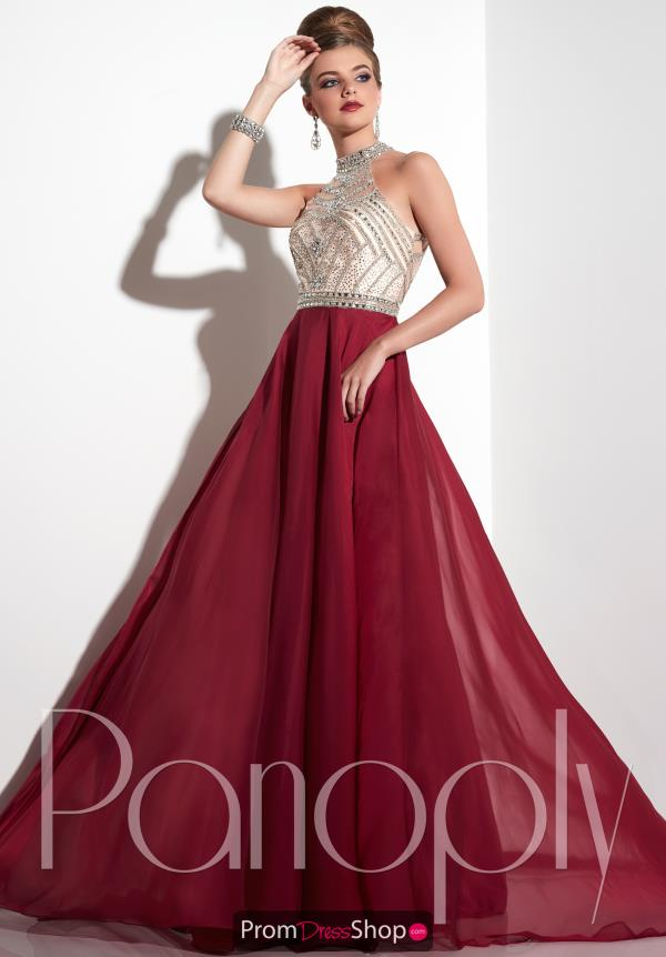 Panoply Chiffon A Line Dress 14799