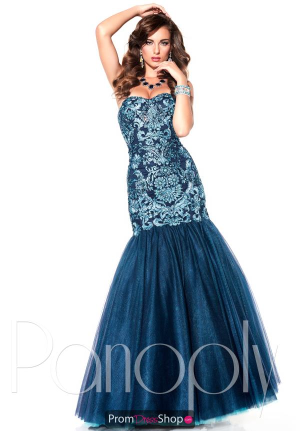 Panoply Long Fitted Dress 14829