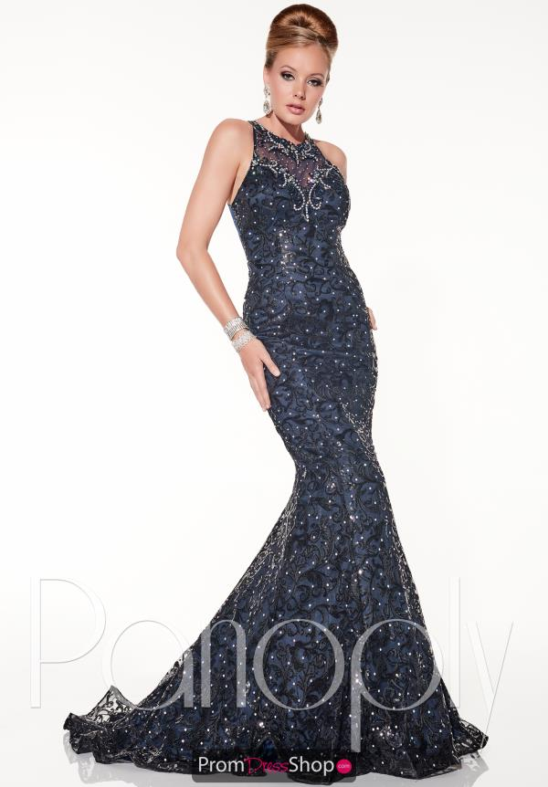 Panoply High Neckline Fitted Dress 14849