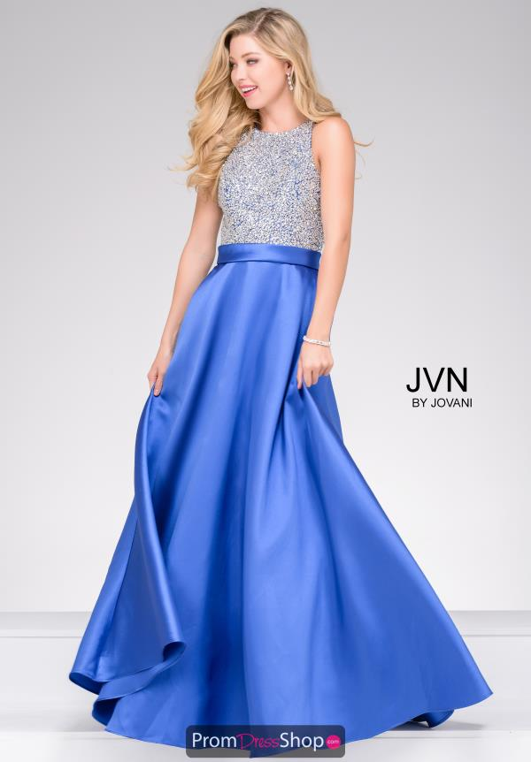 JVN by Jovani A Line Full Figured Dress JVN49432