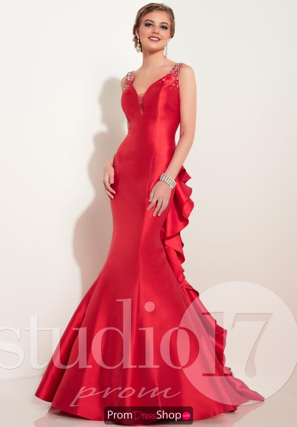 Long Fitted Studio 17 Dress 12605
