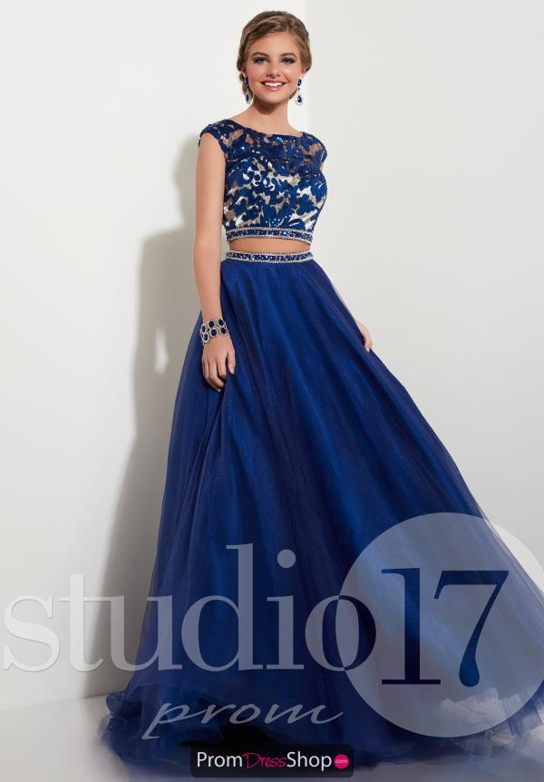 Long Chiffon Studio 17 Dress 12622