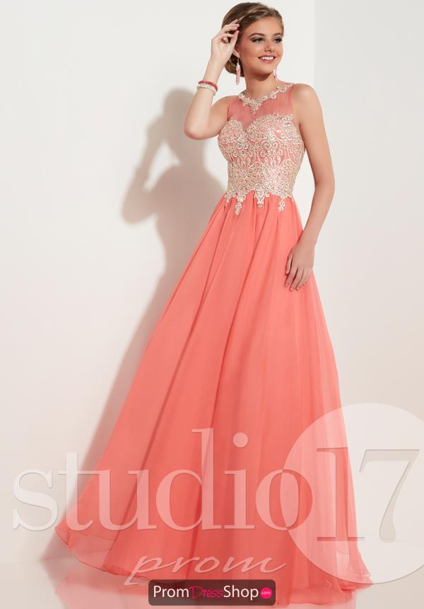 Studio 17 Beaded Long Dress 12623