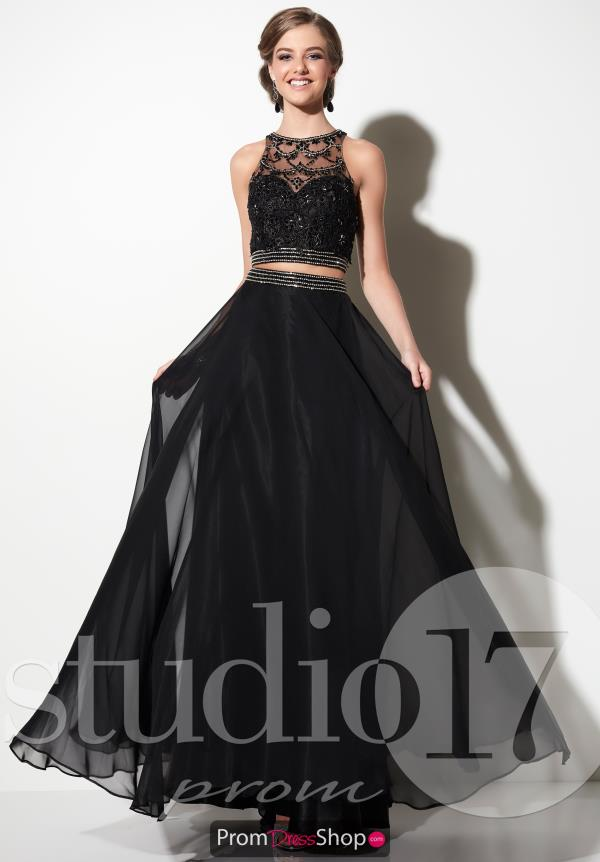 Studio 17 A Line Lace Dress 12630