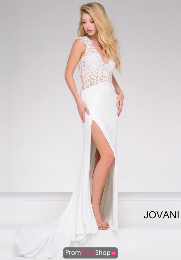 Jovani Long Jersey Dress 31009