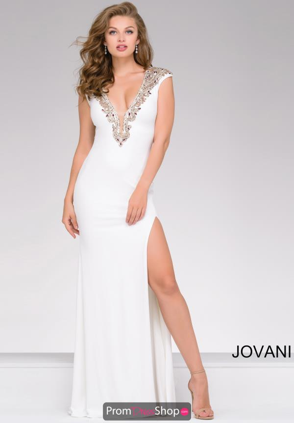 Jovani Fitted Jersey Dress 31039