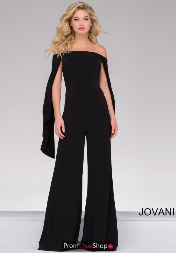 Jovani Long Jersey Pant Suit 39598
