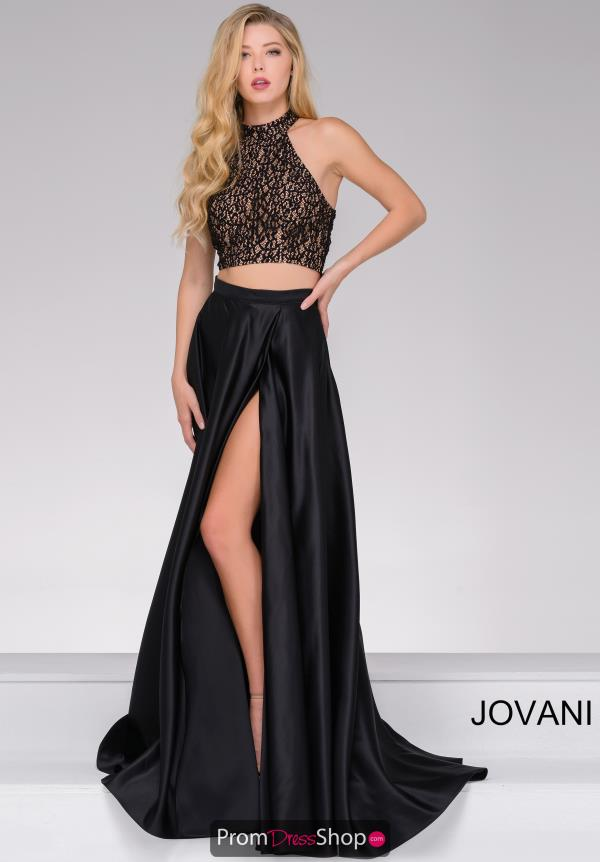 Jovani A Line Satin Dress JVN41499