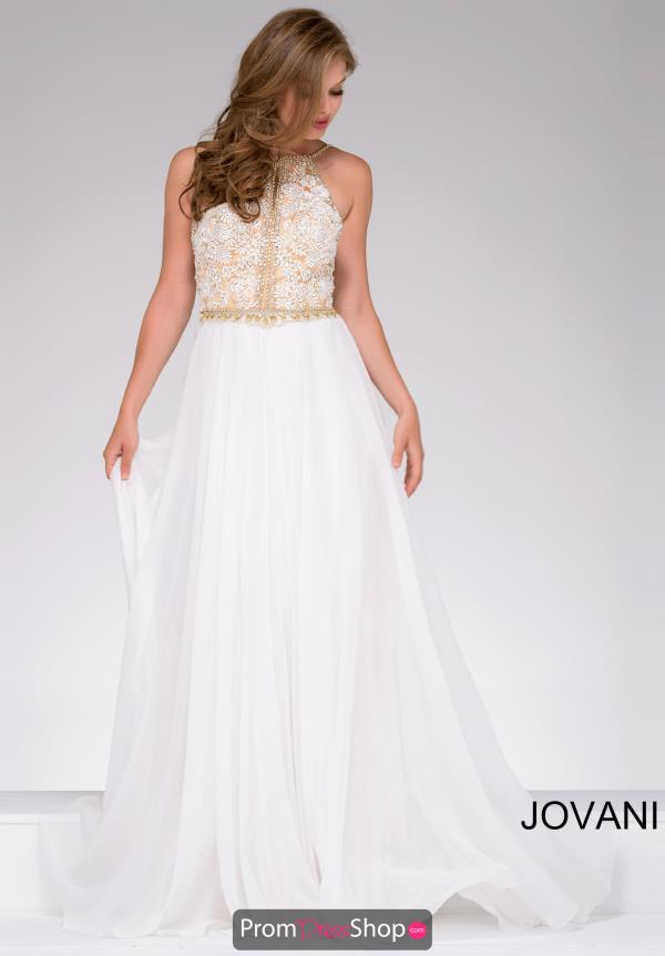 Jovani Long Chiffon Dress 41591