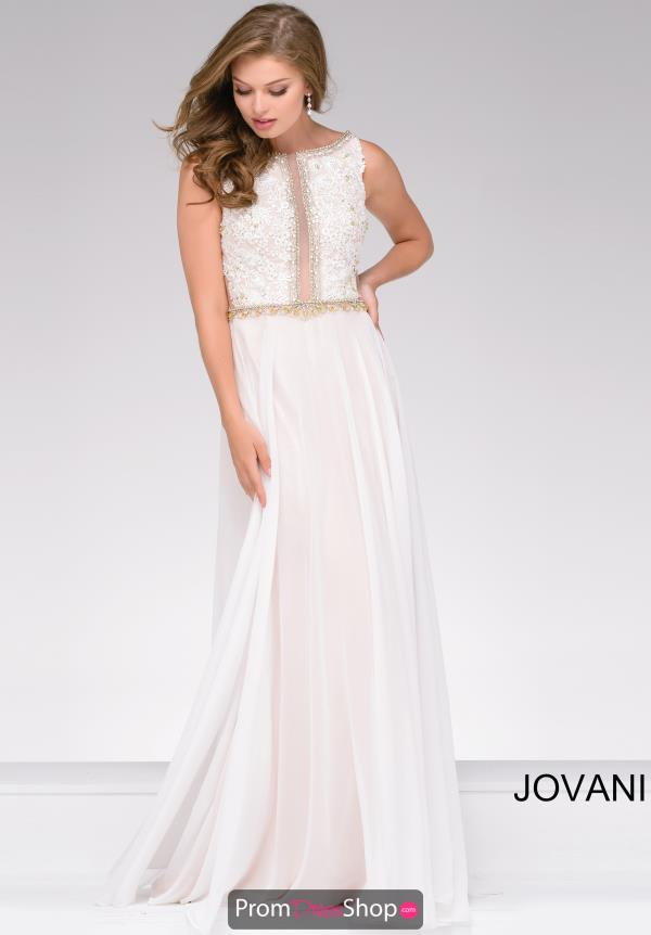 Jovani Long Chiffon Dress 41596