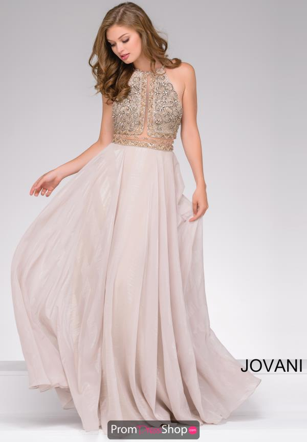Jovani Long Chiffon Dress 41597