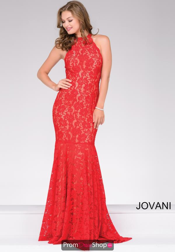 Jovani Fitted Lace Dress 42220