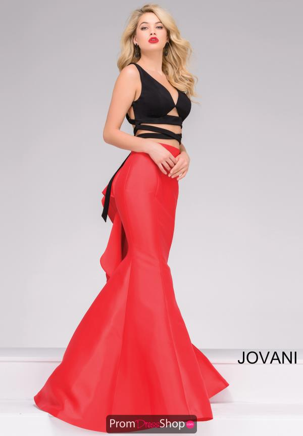Jovani Mermaid Taffeta Dress 42475