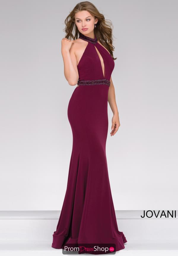Jovani Fitted Beaded Dress 45034