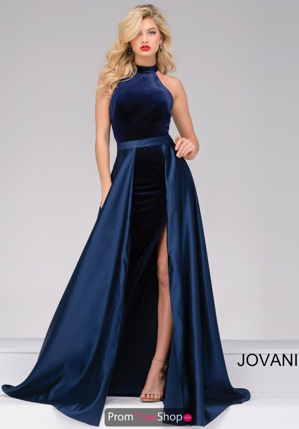 Jovani Long Satin Dress 45182