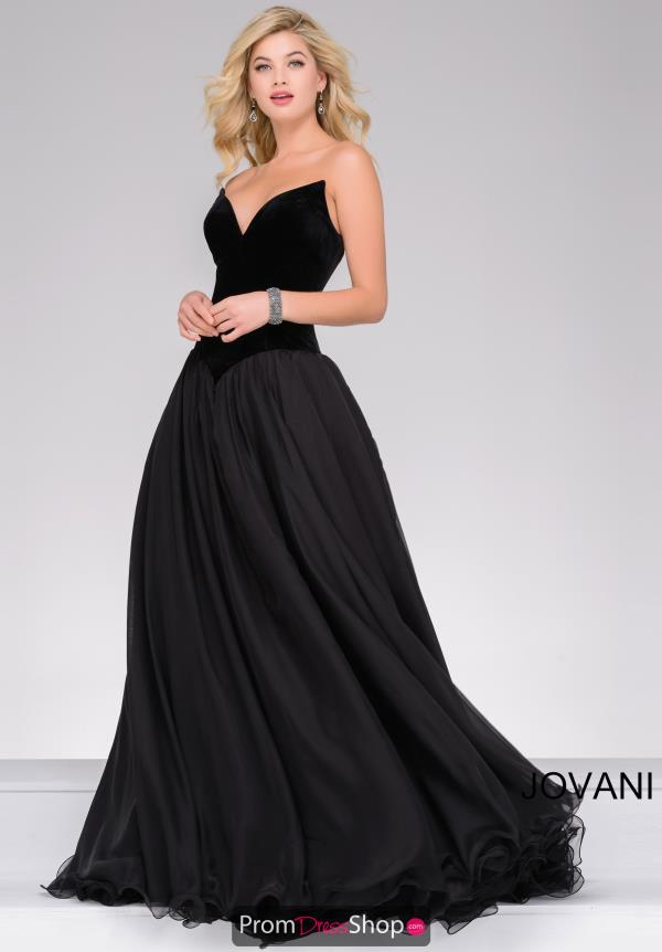Jovani Long Sweetheart Dress 46606