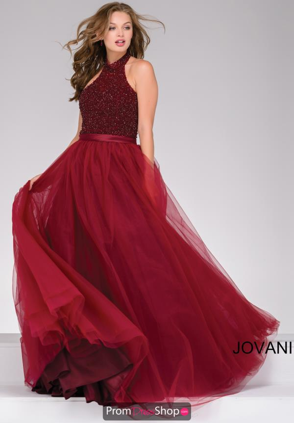 Jovani Tulle Ball Gown Dress 47001