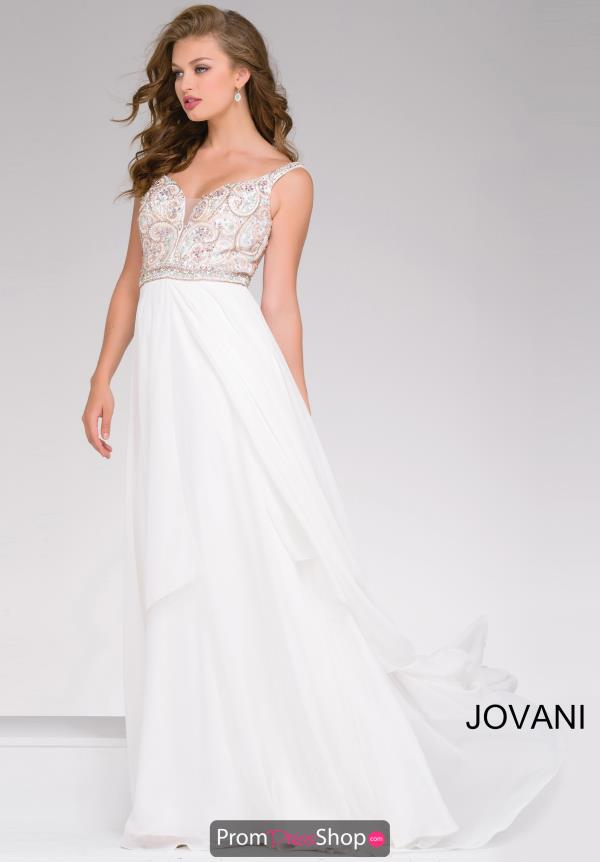 Jovani Long Full Figured Dress 48813