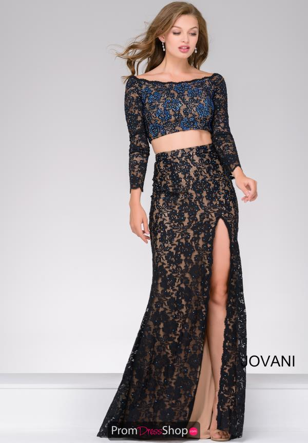 Jovani Fitted Beaded Dress 48989