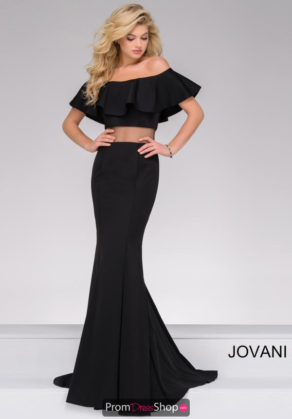 Jovani Two Piece Fitted Dress 49926